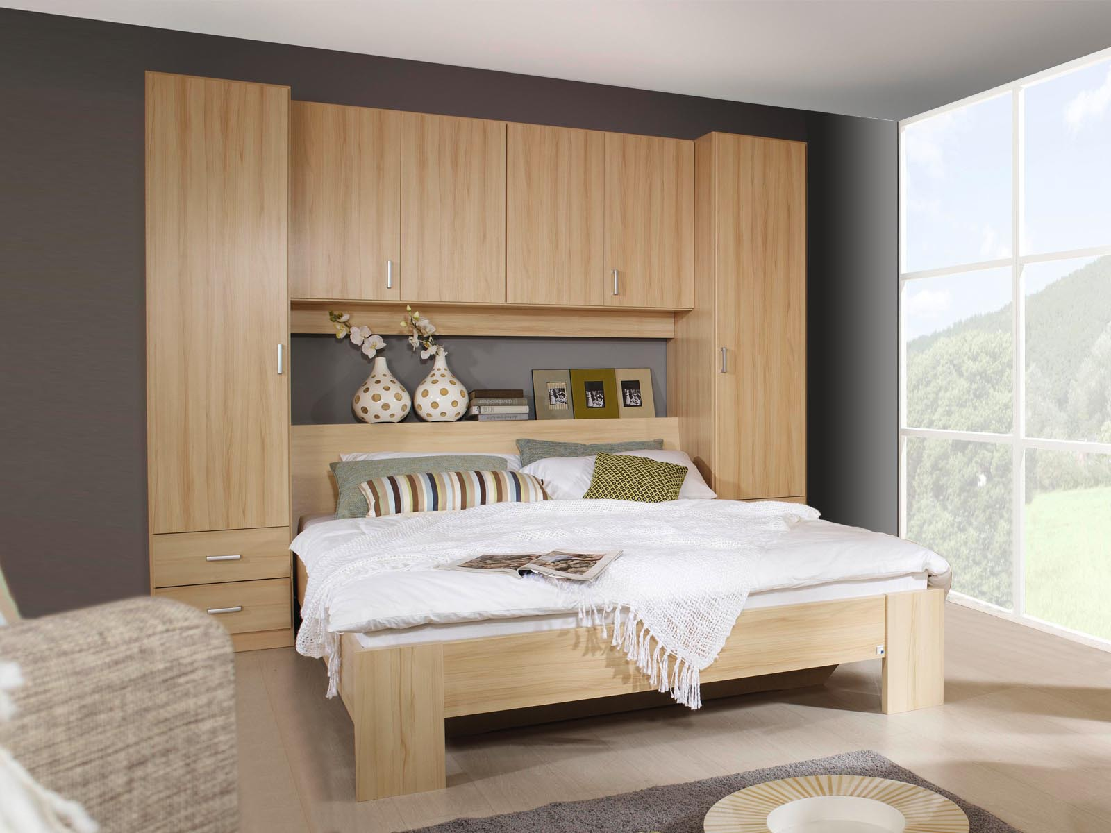 tete de lit avec rangement meubles fran ais. Black Bedroom Furniture Sets. Home Design Ideas