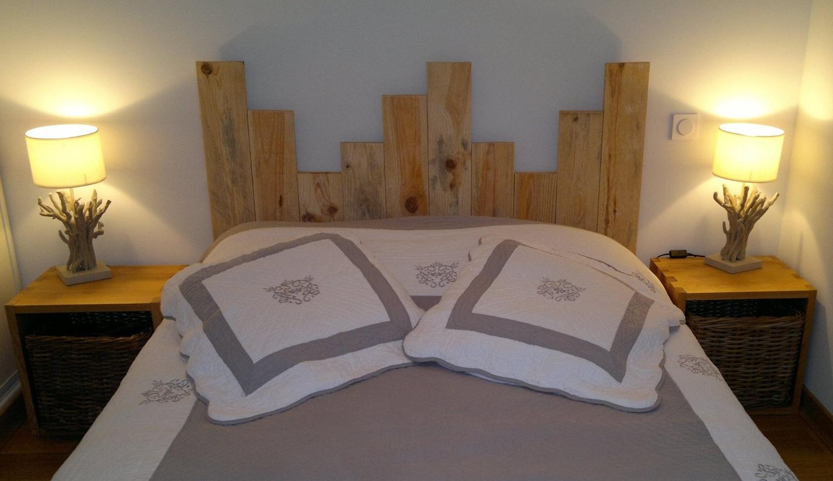 Fabriquer sa tete de lit en bambou for Fabriquer sa tete de lit en bois