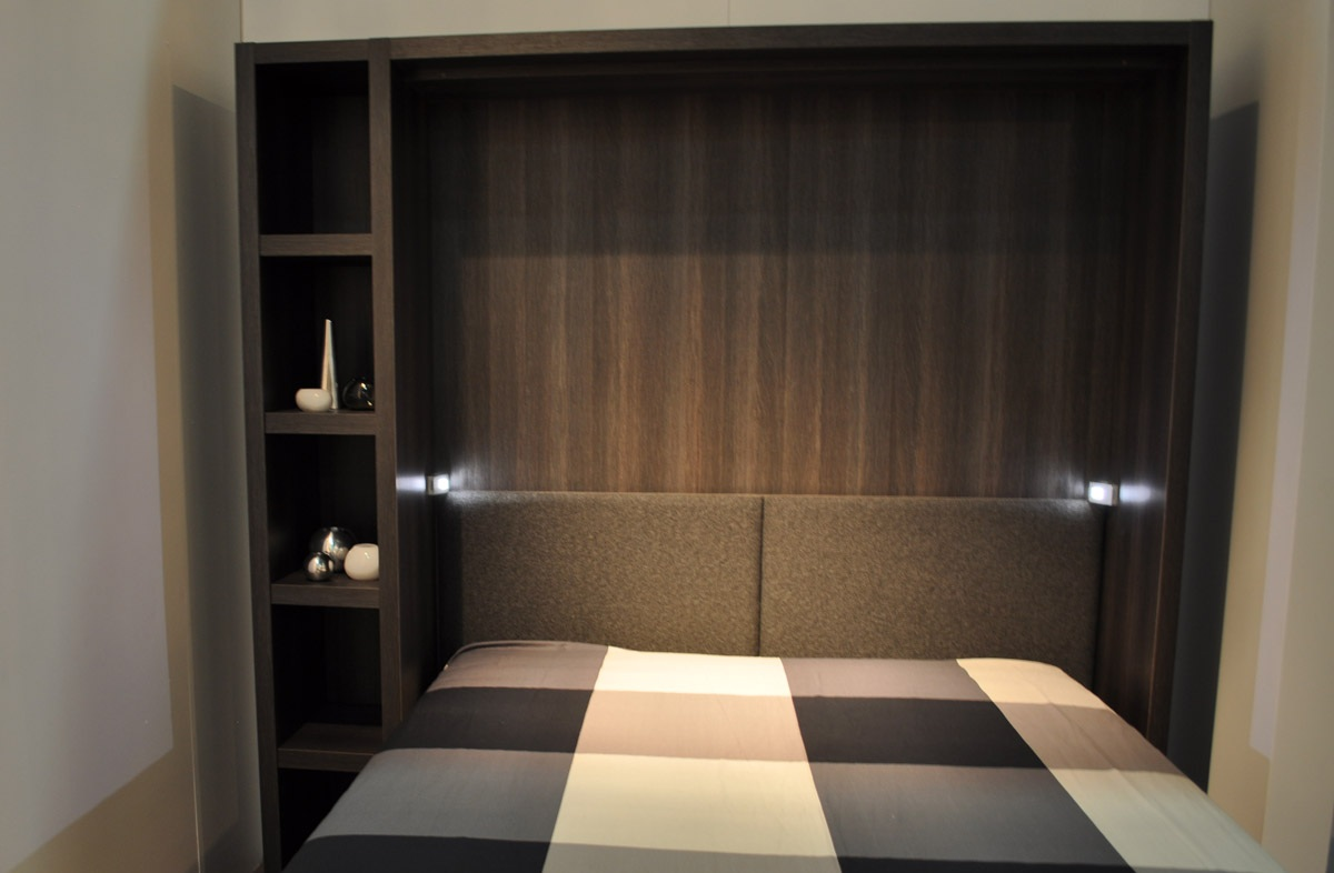 fabriquer tete de lit avec rangement. Black Bedroom Furniture Sets. Home Design Ideas